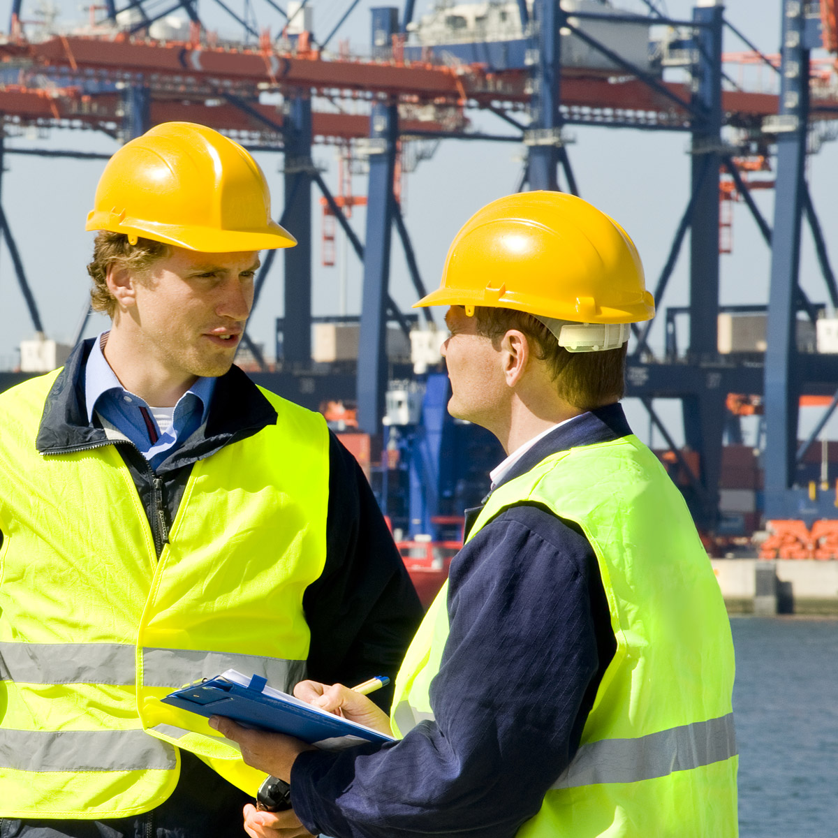 Checking Itinerary at Docks
