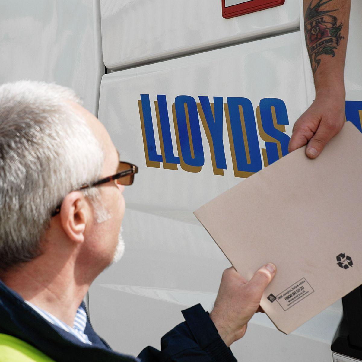 Lloyds Paperwork Handover